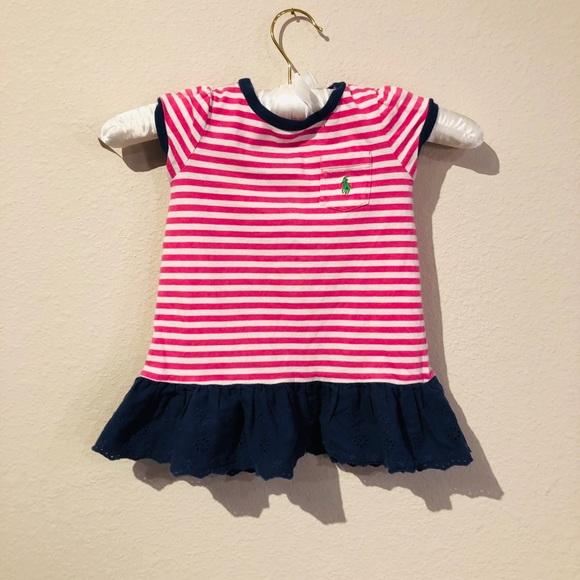 Ralph Lauren Baby Girl Dress 12 Months